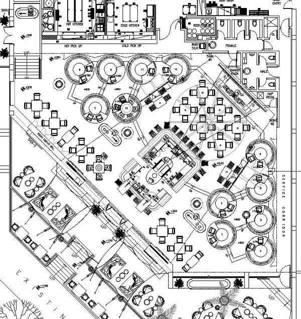 Nightclub Floor Plan Layouts